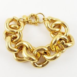 J. Crew Chunky Gold Bracelet